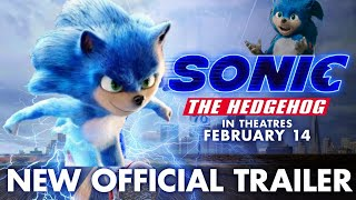 Sonic The Hedgehog New Movie Trailer, but with the creepy old design.