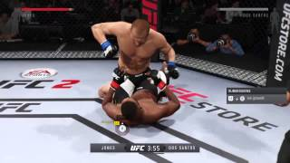 UFC 2 - Jon Jones Vs Junior Dos Santos  Online Division Mode