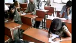 indian student life in exam hall funny