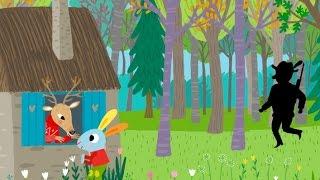 Dans sa maison un grand cerf - Chansons et comptines avec Pinpin et Lili