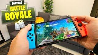 Fortnite on Nintendo Switch! (Fortnite: Battle Royale)