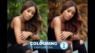 How to colour in Capture One Pro