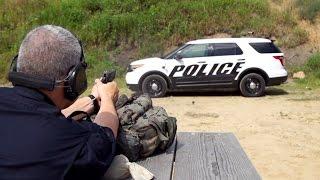 Ford Explorer Police Interceptor Ballistics Level III Testing