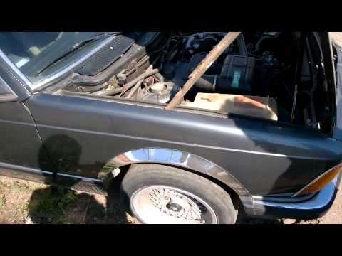 BMW 732 e23 first start after 7 years