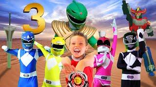 POWER RANGERS NINJA KIDZ 3! Rise of the GREEN RANGER!