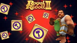 Royal revolt 2 - Tutorial Troops, Towers and Spells Forging!