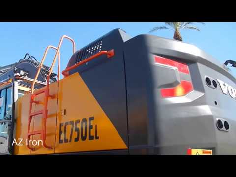 Volvo EC750E Excavator at MINExpo 2016