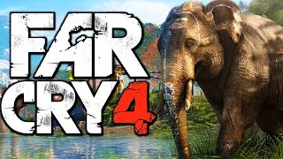 Far Cry 4 Funny Moments (Riding an Elephant, Hunting Rare Demon Fish)