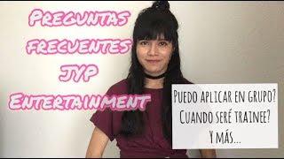 JYP Entertainment Online Audition  Preguntas Frecuentes