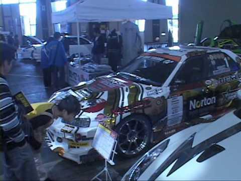 exposição de carros transformados e esportivos em nagoya para corrida parte1.mpg