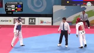 1st Asian Cadet Taekwondo Championships. Final male -57