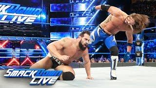 AJ Styles vs. Rusev: SmackDown LIVE, March 13, 2018