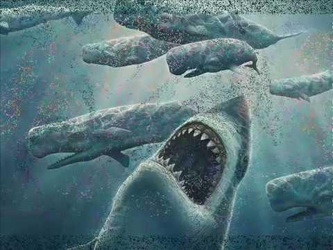 Megalodon vs Predator X Pliosaurus funkei