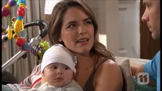 [Neighbours] 7652 Terese & Paige & baby Gabriel & Mark Scene