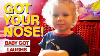 GOT YOUR NOSE PRANK! | Hilarious Parents Pranking Their Kids (You Will Laugh!)