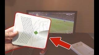 هذا الجهاز ثمنه رخيص يجعلك تشاهد أي قناة بالعالم على التلفاز بدون اشتراك ! أهديه لكم مجانا