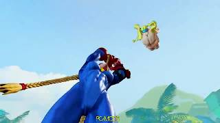 Street Fighter V PC mods - Bikini Battle R.Mika vs Chun-li