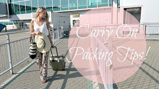 How to Pack your Carry On for Budget Airlines!   |    Fashion Mumblr