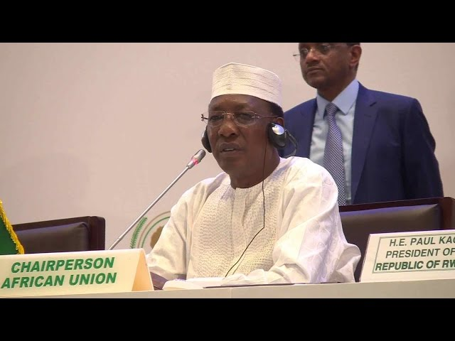 Idriss Deby: Report élection à la présidence de la Commission de l'UA