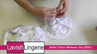 Berlei Cotton Minimiser Bra (B581) White