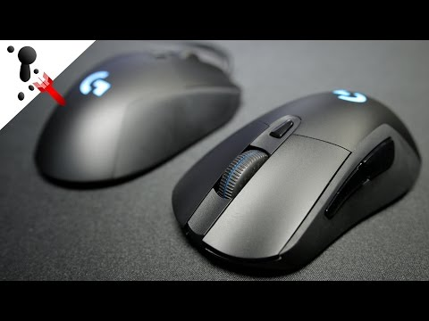 Logitech G403 Prodigy Review Wired and Wireless Versions