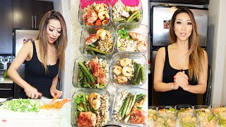 MEAL PREP WITH ME! ♡ @ArikaSato