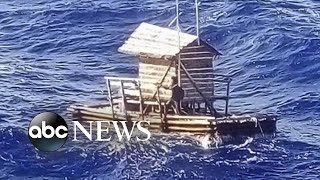 Teen rescued after 49 days at sea