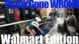 PRANK GONE WRONG Walmart Edition, Stickers, TIME TRAVEL, Public Prank