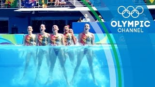 The camera technology bringing Synchronised Swimming to another level | The Tech Race