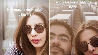 Netizens slam Priyanka for posting selfies from Holocaust Memorial in Berlin