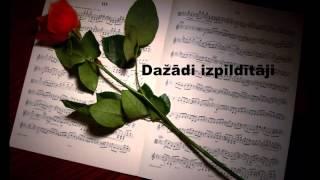 Dažādi izpildītāji - Populāras latviešu dziesmas