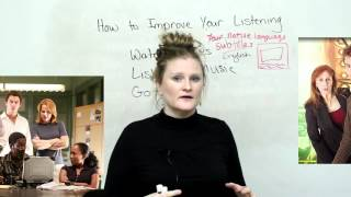 How to improve your listening in English