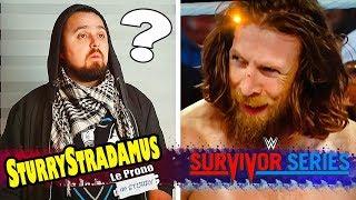 [Sturrystradamus] Le Prono de WWE Survivor Series 2018