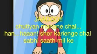 Doraemon hindi song|jadoo mantar aur jahnoom