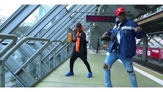 WizKid - Soco (Official Dance Video) #Akwaabadance