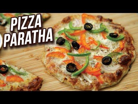 Xxx Mp4 Pizza Paratha Recipe How To Make Veg Cheese Pizza Paratha Easy Snack Recipe Ruchi 3gp Sex