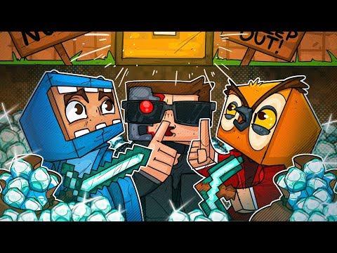 We Stole Nogla s Diamonds The Minority Cave Strikes In Minecraft