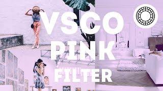 Cara Edit Pink Filter di VSCO Android dan iOS | Tutorial