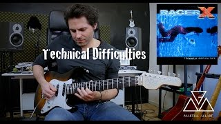 Technical Difficulties - Paul Gilbert cover by Martial Allart