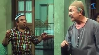 لاول مرة فى تاريخ  السينما المصريه  عادل ادهم بيضرب  بالقلم من يونس  شلبى كدة انت مش  بيبو