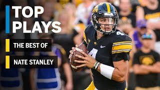 The Best of Nate Stanley: 2018 Mid-Season Highlights | Iowa | Big Ten Football