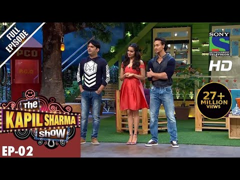 The Kapil Sharma Show–Episode 2–दी कपिल शर्मा शो–Tiger Shroff and Shraddha Kapoor 24th April 2016