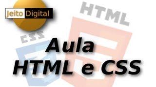 Aula 1 HTML CSS - Introdução