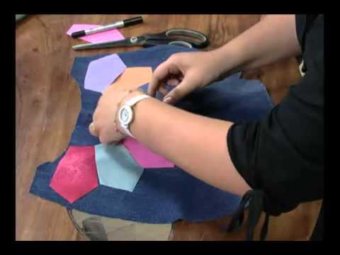 Mulher 08 09 2011 Bolsa de calça jeans