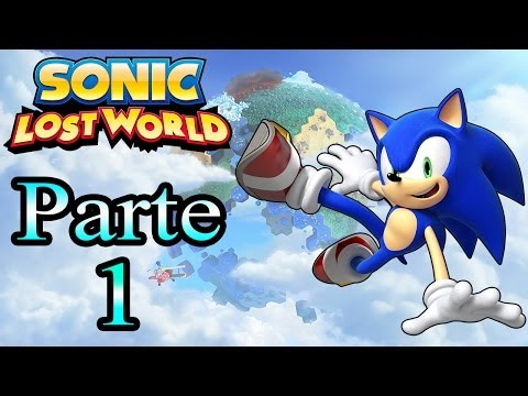 Let s Play Sonic Lost World Parte 1