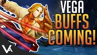 SFV - Vega New April Update Patch Notes Explained! Changes For Street Fighter 5 Season 2
