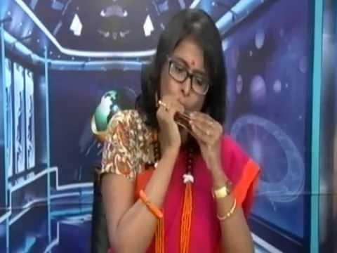 Xxx Mp4 Shurjo Dobar Pala On Harmonica Played Live By Dr Babita Basu In A Channel On 30 6 2016 3gp Sex