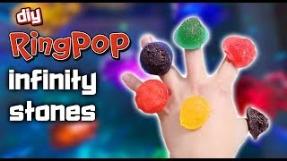 DIY RING POP INFINITY STONES - FT. FEAST OF FICTION
