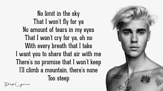 David Guetta ft. Justin Bieber - 2U (Lyrics)