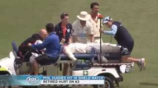 Injury and Death of Cricketer Phil Hughes (1988-2014)